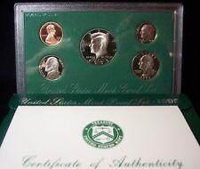 1995-S U.S. Proof Set - 5 Coins - Deep Cameo Lot!