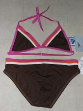 2Pc Speedo Bikini Top Swuimwear For Girls Multicolor SZ 14 -  NWT $44