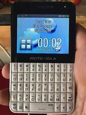 Motorola EX series EX119 - White Cellular Phone