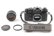 *Exc+++++* Canon F-1 SLR 35mm Film Camera w/ FD 50mm F/1.8 Lens From Japan &307
