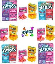Wonka Nerds Gift Set - 2 x Strawberry & Grape - 2 x Surf n Turf - 9 x Mini Packs