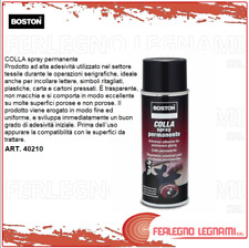 COLLA SPRAY PERMANENTE BOSTON 400 ML ART.40210