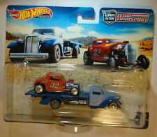 Hot Wheels 2021 Team Transport '32 Ford El Segundo Special Moon Eyes; Speed Waze
