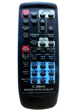 CANON CAMCORDER REMOTE CONTROL WL-D77 for XM2