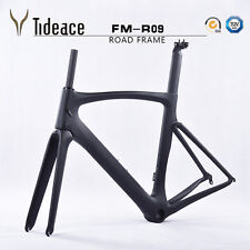 Tija de Carbono Bicicleta framefork + + UD Matt abrazadera Carbono Bicicleta de Carretera Marco 58cm