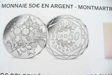SUPERBE  MONNAIE DE  50 €  - MONTMARTRE   - MICKEY  2018 !! DISPO !!