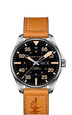 Hamilton Khaki Aviation Pilot Auto Black Dial Leather Band Men's Watch H64725531