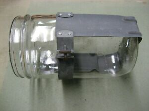 New Duraglas Glass Jar Fits Trico Windshield Wiper Washer Pump with Bracket