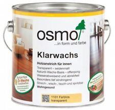 OSMO 1101 Klarwachs Farblos 750 ml