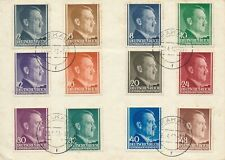Cover Germany Poland General Gov't 1942 WWII Hitler Birthday CTO
