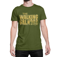 Mens T-Shirt The Walking Grandad FATHERS DAY Birthday Gift For Grandfather Gramp