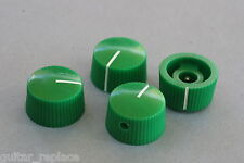 Knobs Verde 21x12 mm. Fit 6.35 Potes Effect Pedal Poti Knöpfe Boutons Green