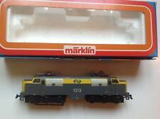 Marklin 3055 HO Scale Electric Locomotive 1212 Train Model Gray / Yellow Germany