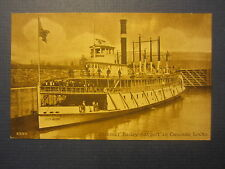 Old Vintage c.1910 Steamer - BAILEY GATZERT - Steamship POSTCARD - Cascade Locks