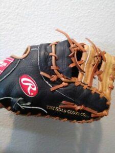 "Rawlings RFM25BT 12"" Youth Baseball First Base Mitt Right Hand Throw New"