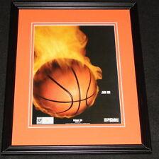 NBA Jam 2003 PS2 XBox Framed 11x14 ORIGINAL Vintage Advertisement