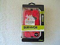 "Griffin Survivor Pink / Black Iphone 5 / 5s  Phone Case "" GREAT CASE """
