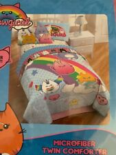  Twin Meowgical Cat Life Reversible Comforter