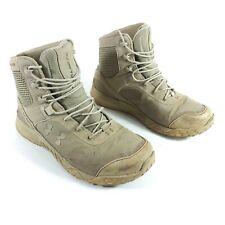 Under Armour Mens Sz 9.5 Desert Sand Valsetz Tactical Boots 1250234-290 A3811