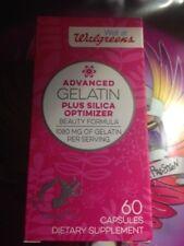 ADVANCED GELATIN PLUS SILICA OPTIMIZER -BEAUTY FORMULA--60 CAPSULES NEW 02-2020
