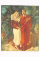 CP ART TABLEAU YVES ALIX Faust & Marguerite