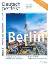 Deutsch perfekt, Heft Juni 06/2016: Berlin  +++ wie neu +++