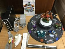 Nintendo Wii White Console Bundle - Complete With Skylanders Giants Fully Tested