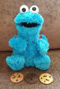 Sesame Street Cookie Monster Count n' Crunch Complete 3 Cookies Working 2010