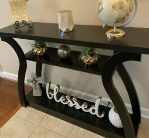 Solid Wood Console Table Sofa Hall Entryway Farmhouse Accent Display modern home