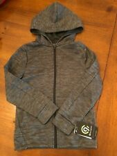 Nwt - Boys' C9 by Champion Gray Tech Fleece Jacket Size Small 6-7