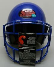 Ultra Fresh Girls Schutt Pro Guard Ponytail Softball Helmet Face Mask Blue New