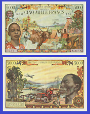 French Equatorial africa 5000 francs 1963 UNC - Reproduction