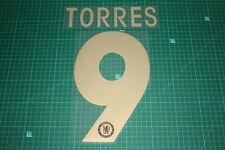 Chelsea 12/13 #9 TORRES Europa League HomeKit Nameset Printing