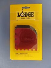 Lodge Manufacturing SCRAPERGPK Grill Pan Scraper  2-Pack   NEW