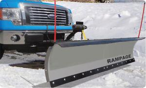 "Rampage Snow Plow, Rampage 82"" Snow / Utility Plough"