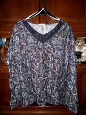 Damen - Poncho - Shirt  Gr. 58