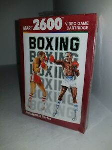 NEW W/CRUSHED BOX PAL REALSPORTS  BOXING GAME FOR ATARI 2600 (NOT FOR USA) G74