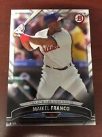 2016 Bowman Baseball Sophmore Standouts 5x7 18/49 SS-15 Maikel Franco Phillies