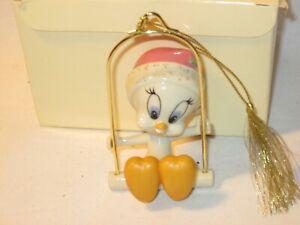 Lenox Ornament Classics Tweety Bird on Swing MIB