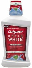 Colgate Optic White Mouthwash, Sparkling Fresh Mint 16 oz Each