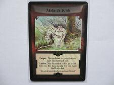 L5R MAKE A WISH - FOIL PROMO Card - Legend 5 Rings ccg tcg AEG - Diamond Magic