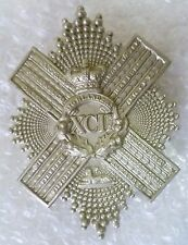 Badge- Gordon Highlanders 92nd Foot VICTORIAN Cross Belt Badge Scottish QVC WM*