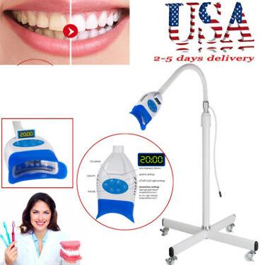 Dental Mobile Teeth Whitening LED Lamp Light Bleaching Accelerator stand Tool CE