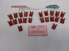 1957 Chevy Chevrolet Bel Air #20-173 TOP of FIN MOLDING CLIPS Set 22 - New