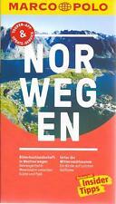 Norwegen Geirangerfjord Lofoten Marco Polo Reiseführer & Extra-Faltkarte 2018