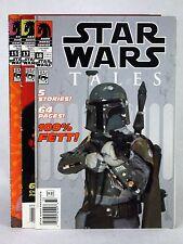 2003 STAR WARS TALES #15 #17 #18 DARK HORSE PHOTO COVER BOBA FETT DARTH VADER