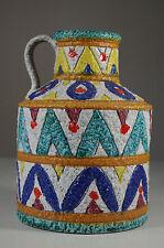 Vase Italy céramique 50 60 Vintage Mid century Vase Italian Ceramic