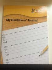 Wilson My Fundations Journal Preschool Early Intervention Wilson Language Basics