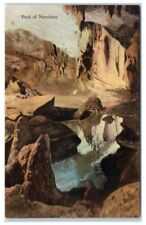 New Market, VA, Endless Caverns, Pool of Narcissus, Albertype Co. Postcard