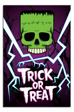 Trick Or Treat Glow In The Dark Official Poster New | UK Seller
